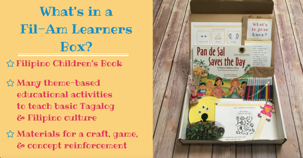 What's in a Fil-Am Learners box?