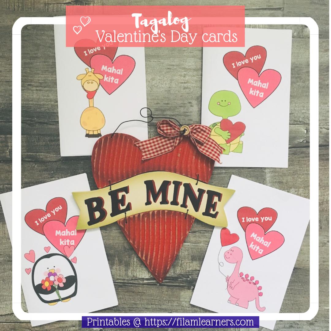 valentine's tagalog card
