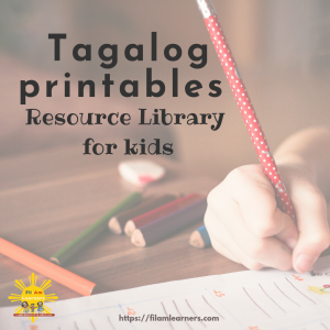 Tagalog Lesson Resources