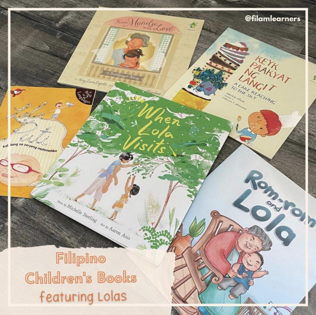 Filipino Books on Lola